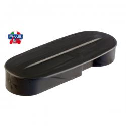 Ataúd embellecedor horquilla en plástico negro, Vespa IRIS, PX Disco, TX, T5, PKS, PK XL, FL, COSA, DN (con eje 20mm)