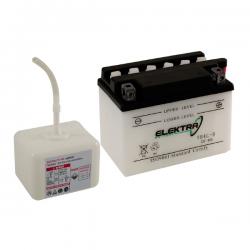 Bateria Elektra 12 V 9AH Vespa PX DISCO, TX, T5, IRIS, COSA