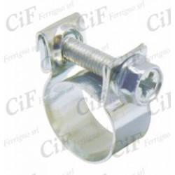Abrazadera macarron diámetro 10-12mm
