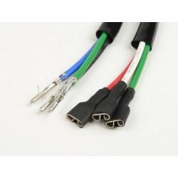 Grupo cables para soporte bobinas completo de encendido Vespa PK, 6 cables