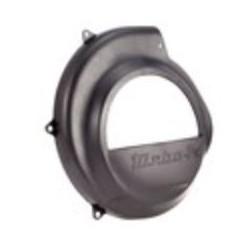 """Tapa Ventilador negra """"Turbo"""", modelos sin arranque eléctrico. Vespa DN, DS, CL, IRIS, TX, 150/160 Sprint"""