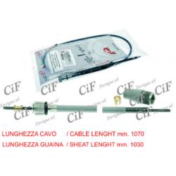 Cable cuentakilómetros Vespa 125/150/160/Sprint.
