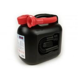 Bidón de gasolina 5l -HÜNERSDORFF PREMIUM (UN)- negro