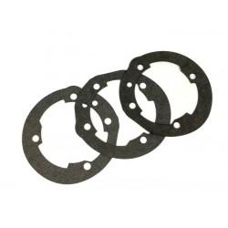 Juntas base cilindro Malossi 210/221cc MHR/Sport 0,25mm/0,50mm/0,75mm, Vespa 200, DS, DN, IRIS 200, TX, PX Disco 200, COSA 200