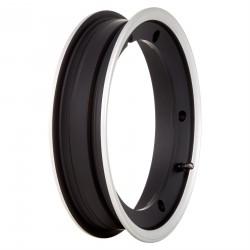 Llanta Tubeless SIP 2.10x10, aluminio, llanta en negro mate con borde pulido. (Ver modelos en descripción)