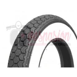 Neumático CONTINENTAL Banda Blanca K62 3.50-10 pulgadas TL 59J (reforzado) - Tubeless - (100Km/h)