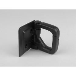 Gancho portabolsas Vespa FL, COSA. Plástico negro