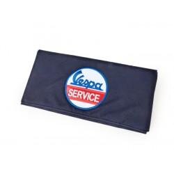 Bolsa de herramientas en azul Vespa Service, no incluye herramientas