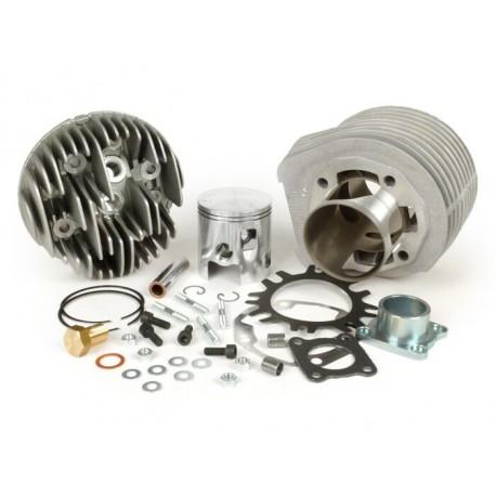 Kit cilindro POLINI Sport 187cc aluminio carrera 60mm, 5 transfers, para Vespa PX Disco 125/150, IRIS 125/150, COSA 125/150