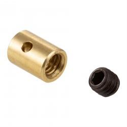 Prisionero Perrillo SIP para cable acelerador/gas, diámetro interior 2mm, dimensiones 7,5x5,5mm