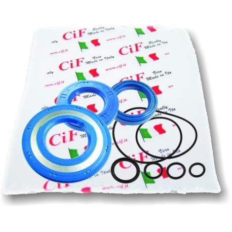 Kit Retenes Corteco Motor, Vespa CL, DS, DN, incluye tóricas motor