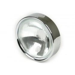 Óptica Faro delantero con cerquillo, Vespa CL, DS
