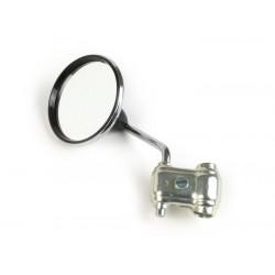 Espejo retrovisor bordón izquierdo cromado, Vespa y Lambretta, diámetro 80mm
