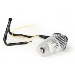 Intermitente manillar LED blanco, homologado con marca E, 12V. Vespa 50/75,Super,SL,Primavera,CL,DS,150s,150 GS,150 Sprint, 160