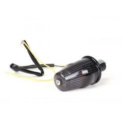 Intermitente manillar LED ahumado, homologado con marca E, 12V. Vespa 50/75,Super,SL,Primavera,CL,DS,150s,150 GS,150 Sprint,160