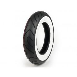 Neumático SAVA/MITAS MC18 banda blanca 3.50-10 pulgadas TL 51P