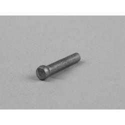 Remache 3,8x23mm, Original Piaggio, utilizado para piñón de embrague de 6 y 7 muelles, Vespa CL, DS, DN, IRIS, TX, T5