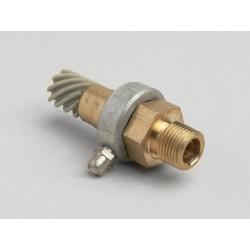 Kit reenvío cuentakilómetros 9 dientes Vespa, para cable fino 2,0mm