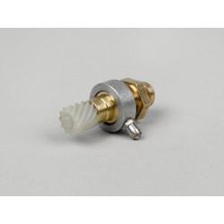 Kit reenvío cuentakilómetros 11 dientes Vespa, para cable fino 2,0mm