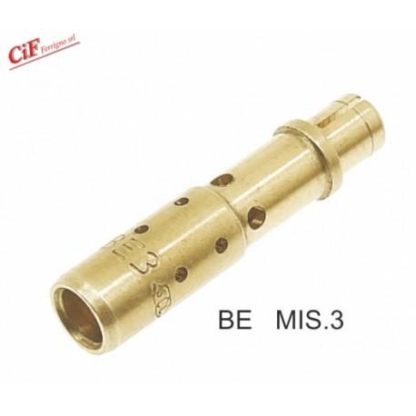 Atomizador Mezclador Dellorto BE 3 Para Carburador SI 20-22-24 E-G-H