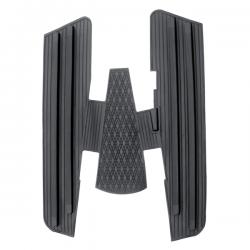 Alfombra goma completa negra, Vespa 150s, 150 GS, 150 Sprint, Vespa 125 años 60 al 65