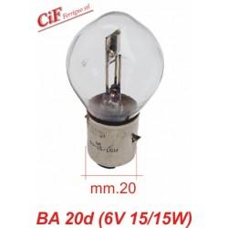 Lámpara &V 15/15W Doble Filamento