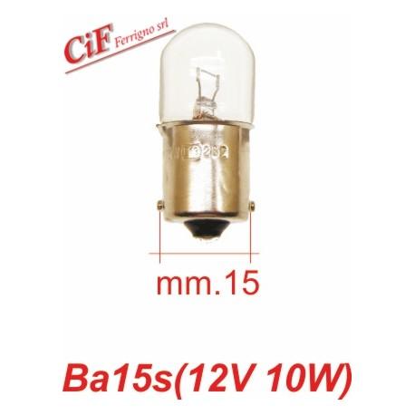 Bombilla BA 15s 12V 10W Luz Stop PK XL FL PX 125-150-200 e IRIS