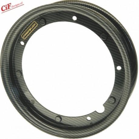 """Llanta """"CARBONE LOOK"""" para Neumáticos 3.50 y 3.00 x 10"""""""