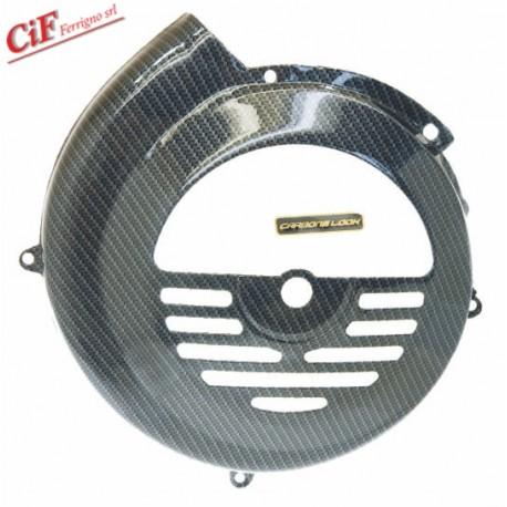 """Tapa ventilador """"Carbone Look"""", Vespa 50/75, Super, SL, Primavera"""