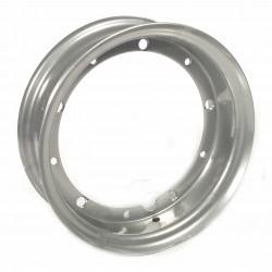 """Llanta completa plateada para neumáticos anchos 110' 80-10"""" a 130' 70-10"""", Vespa 10"""""""