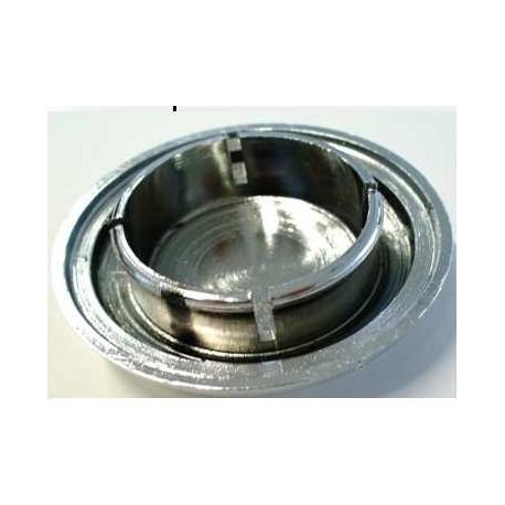 Tapón eje rueda tambor delantero y trasero, metalizado. Vespa PKS, PK XL, Junior, FL, Plurimatic