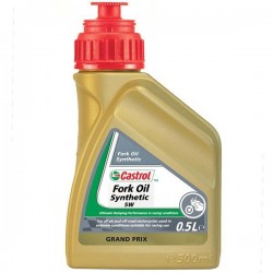 Aceite Horquillas Castrol Synthetic Fork Oil 5W 500ml