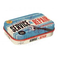 Pastillero 4x6x2cm Service & Repair de Nostalgic Art