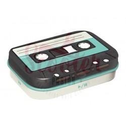 Pastillero 4x6x2cm Retro Cassette de Nostalgic Art