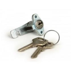 Cerradura guantera -CALIDAD OEM- Motovespa 150S Vespa Sprint. Cerradura pequeña.