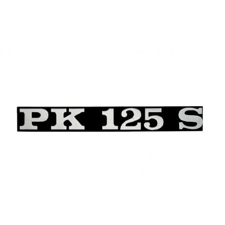Letrero Anagrama Cófano Vespa PK 125 S
