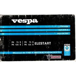 Manual de Usuario Vespa PKs 1986