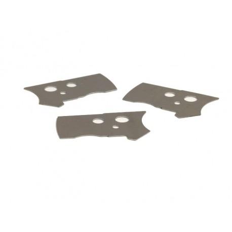 Kit Lámina de acero para subir Pickup BGM PRO Vespa PX Disco, PK XL, Cosa, Lambretta (encendido electrónico) 3x 0,5mm