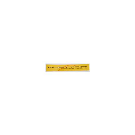Pegatina Adhesivo QUATTRINI AMARILLO 27x4 cm