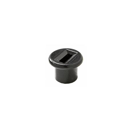 Casquillo negro tetón apoyo tapa lateral motor, Vespa Super, SL, Primavera