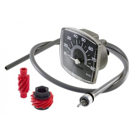Cuentakilómetros Completo Vespa 50 80 Km/h
