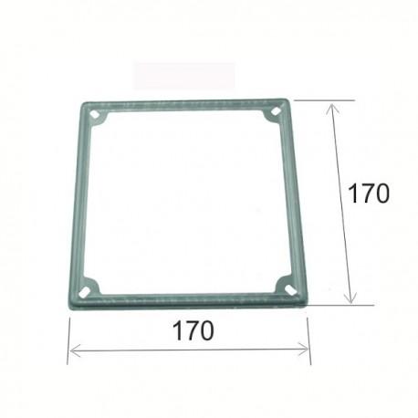 Portamatrículas Metal 170x170mm