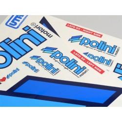 Kit adhesivos POLINI Team Polini 2 hojas azul 297x420mm
