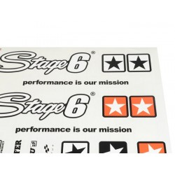 Kit adhesivos pegatinas STAGE 6 420x594mm (superficies claras)