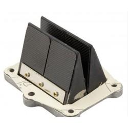 Válvula láminas ITALKIT Doble Prisma para QUATTRINI M1L 2009/ M200 / DEA, 97x70x56mm, carbono, 8 pistones sin topes