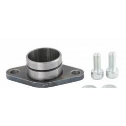 Colector admisión para cilindro QUATTRINI M1X 172cc, salida atornillada, atórica y tornillos resistentes al calor, acero
