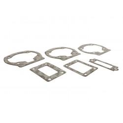 Juntas base cilindro y admisión láminas QUATTRINI M1XL 172cc 0,25mm/0,50mm/0,75mm. Vespa PX Disco 125