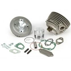 Kit cilindro Malossi 136cc MHR aluminio para Vespa Primavera 125, PKS 125, PK XL 125, FL 125.