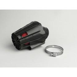 Filtro de aire Malossi E5-30º, conexión 38mm negro, Vespa