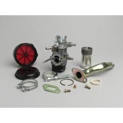 Kit Carburador Malossi 2 Agujeros Dellorto 16/16mm SHB Vespa 50